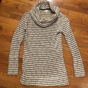 Merona Black and White Textured Sweater